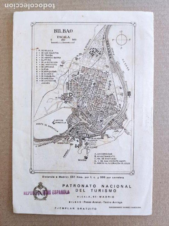 Folletos de turismo: PNT - BILBAO - FOLLETO TURISTICO - PATRONATO NACIONAL DE TURISMO - Foto 2 - 248191995