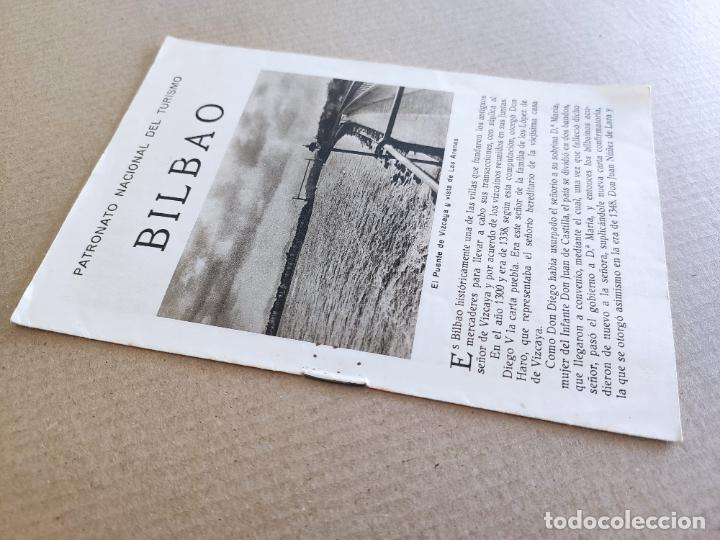 Folletos de turismo: PNT - BILBAO - FOLLETO TURISTICO - PATRONATO NACIONAL DE TURISMO - Foto 3 - 248191995