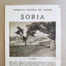 Folletos de turismo: PNT - SORIA - FOLLETO TURISTICO - PATRONATO NACIONAL DE TURISMO. Lote 248195015