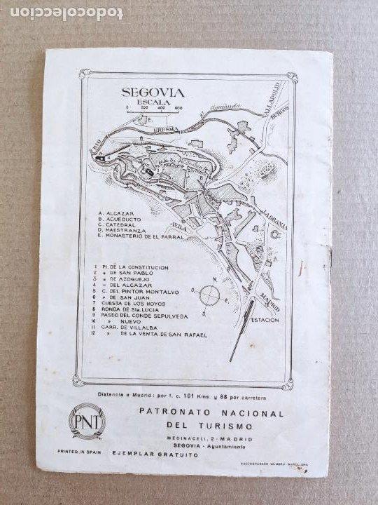 Folletos de turismo: PNT - SEGOVIA - FOLLETO TURISTICO - PATRONATO NACIONAL DE TURISMO - Foto 2 - 248195160