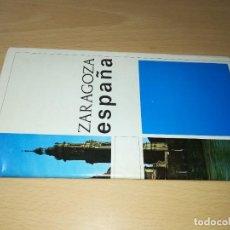 Folletos de turismo: ZARAGOZA ESPAÑA / MINISTERIO INFORMACION Y TURISMO / FOLLETO TURISTICO / ESQ113. Lote 248197960