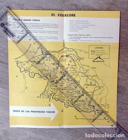 Folletos de turismo: Cuadernillo turístico de Pirineos. c. 1959. - Foto 2 - 248636900