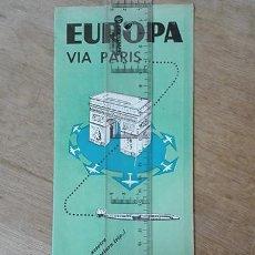 Folletos de turismo: AIR FRANCE. 1959. EUROPA VÍA PARIS.. Lote 248919570