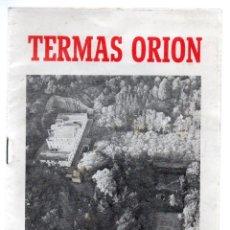 Folletos de turismo: SANTA COLOMA DE FARNES, TERMAS ORION 1958, FOLLETO PUBLICIDAD 16 PAG. Lote 249542915