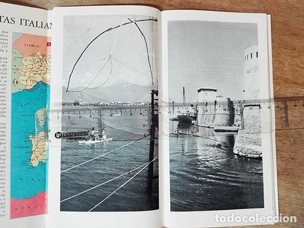 Folletos de turismo: Cuadernillo turístico. Playas en Italia. Año: 1961. Desde Ventimiglia a Reggio Calabria y Cerdeña. - Foto 3 - 250255665