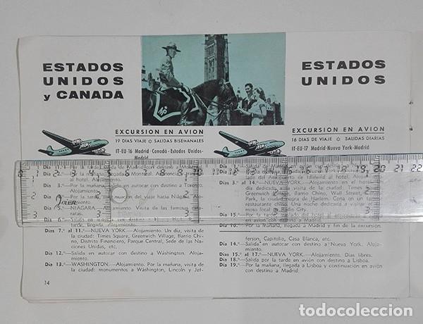Folletos de turismo: Viajes Meliá 1959-1960. Programa de Viajes por todo el mundo. - Foto 2 - 251726905