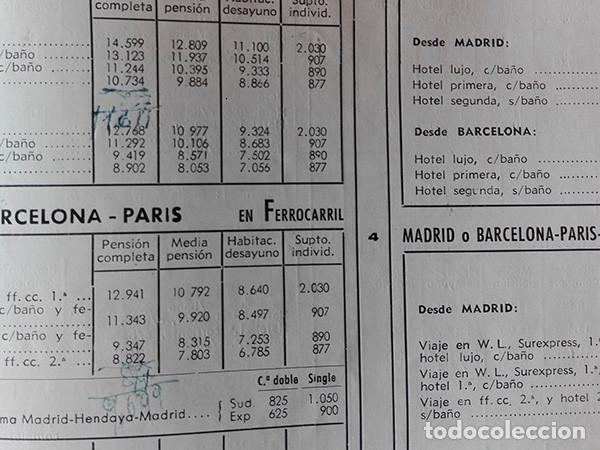 Folletos de turismo: Viajes Meliá 1959-1960. Programa de Viajes por todo el mundo. - Foto 8 - 251726905