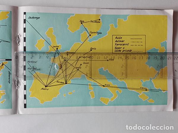 Folletos de turismo: Viajes Meliá 1959-1960. Programa de Viajes por todo el mundo. - Foto 4 - 251726905