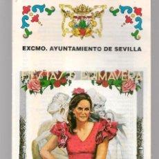 Brochures de tourisme: SEMANA SANTA Y FERIA, SEVILLA 2002. PLANO DE LA FERIA. EXCMO. AYUNTAMIENTO DE SEVILLA. (C/A28). Lote 253872230