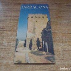 Folletos de turismo: PLANO TARRAGONA CON FOTOGRAFIAS Y MAPA EDITADO AYUNTAMIENTO DE TARRAGONA. Lote 253876970