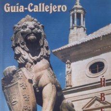 Folletos de turismo: GUIA CALLEJERO DE UBEDA 1998. Lote 254259715