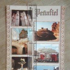 Folletos de turismo: PEÑAFIEL. CARPETA TURÍSTICA. CASTILLO, 1997.. Lote 254320020