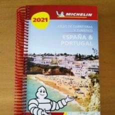 Folletos de turismo: GUÍA MICHELÍN ESPAÑA PORTUGAL 2021. Lote 254322605