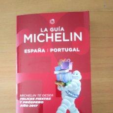 Folletos de turismo: GUÍA MICHELÍN DE ESPAÑA Y PORTUGAL 2017. Lote 254322895