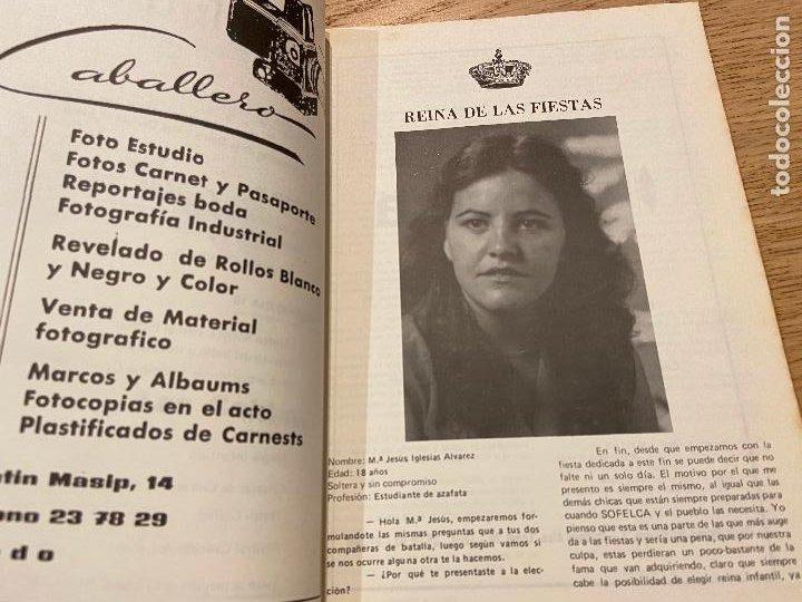 Folletos de turismo: FIESTAS DE NUESTRA SEÑORA DE LA ASUNCION LOS DIAS 14-15-16-17 DE AGOSTO LAS CALDAS 1981 FOTOGRAFIAS - Foto 8 - 255936570