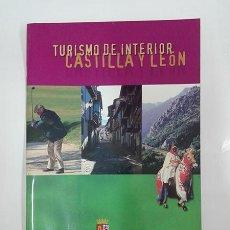 Folletos de turismo: TURISMO DE INTERIOR. CASTILLA Y LEÓN. 2001.. Lote 256082320