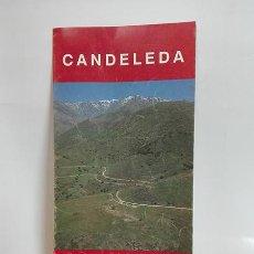 Folletos de turismo: CANDELEDA. CASTRO DE EL RASO. (ÁVILA). C. 1994.. Lote 256103845