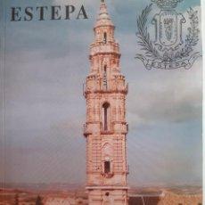 Folletos de turismo: ESTEPA CALLEJERO GUIA 1992 MANUEL DUVISON RODRIGUEZ CON MAPA DESPLEGABLE. Lote 260438325