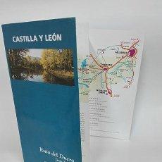 Folletos de turismo: 1995. RUTA DEL DUERO. GUÍA PRÁCTICA. CASTILLA Y LEÓN.. Lote 260808315