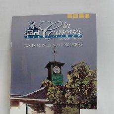 Folletos de turismo: LA CASONA DEL PINAR. SAN RAFAEL (SEGOVIA). AÑO 1998.. Lote 261233455
