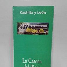 Folletos de turismo: LA CASONA DEL PINAR. SAN RAFAEL (SEGOVIA). CASTILLA Y LEÓN, AÑO 1998.. Lote 261296420