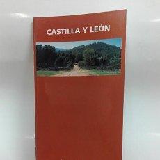 Folletos de turismo: CASTILLA Y LEÓN. RUTA DE LA PLATA. AÑO 1995.. Lote 261303280