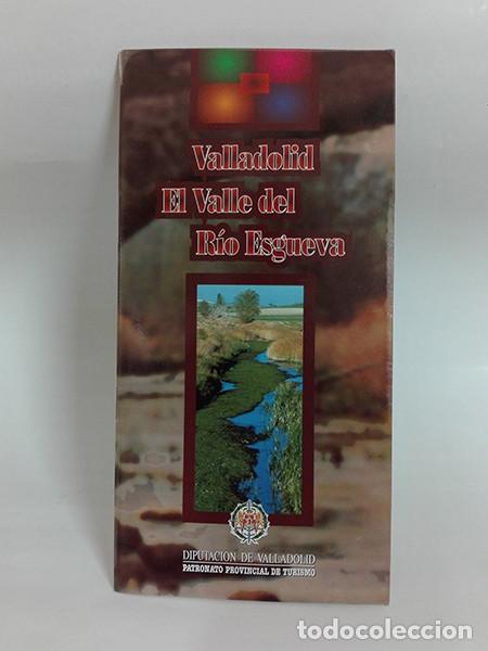 VALLADOLID. VALLE DEL RÍO ESGUEVA. AÑO 1997. (Coleccionismo - Folletos de Turismo)