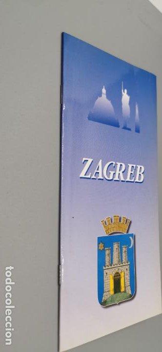 PEQUEÑO LIBRITO CON MAPA - ZAGREB - CROACIA AÑO 1997 (Coleccionismo - Folletos de Turismo)