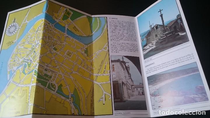 Folletos de turismo: GUÍA FOLLETO TURISTICO RÍA DE PONTEVEDRA Y ZONA CENTRO DE LA PROVINCIA - DIPUTACIÓN AÑOS 80 - Foto 4 - 262060965