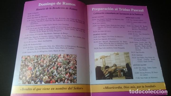 Folletos de turismo: FOLLETO SEMANA SANTA LA CORUÑA 1998 PROGRAMA - Foto 3 - 262062090