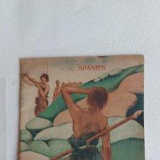 Folletos de turismo: T-759.- PATRONATO NACIONAL DE TURISMO, DIE HÖHLEN VON ALTAMIRA , Nº.- 1.- 1928, MADRID. Lote 262192425