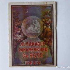Folletos de turismo: ALMANAQUE PANAMERICANO DE ROSS,1924. Lote 262242530