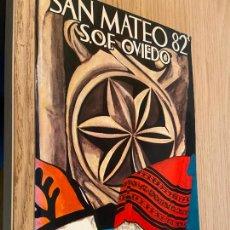 Folletos de turismo: SAN MATEO 82 S.O.F OVIEDO / FOTOGRAFIAS A COLOR / DIA DE AMERICA EN ASTURIAS / FIESTA DE INTERES TUR. Lote 262251850