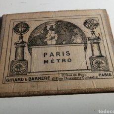 Folletos de turismo: PLANO DEL METRO DE PARIS AÑO 1946. Lote 262653630