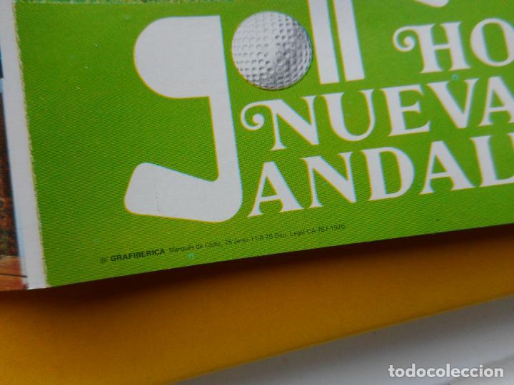 Folletos de turismo: ANTIGUO FOLLETO.HOTEL NUEVA ANDALUCIA MARBELLA 1970 - Foto 4 - 264339048