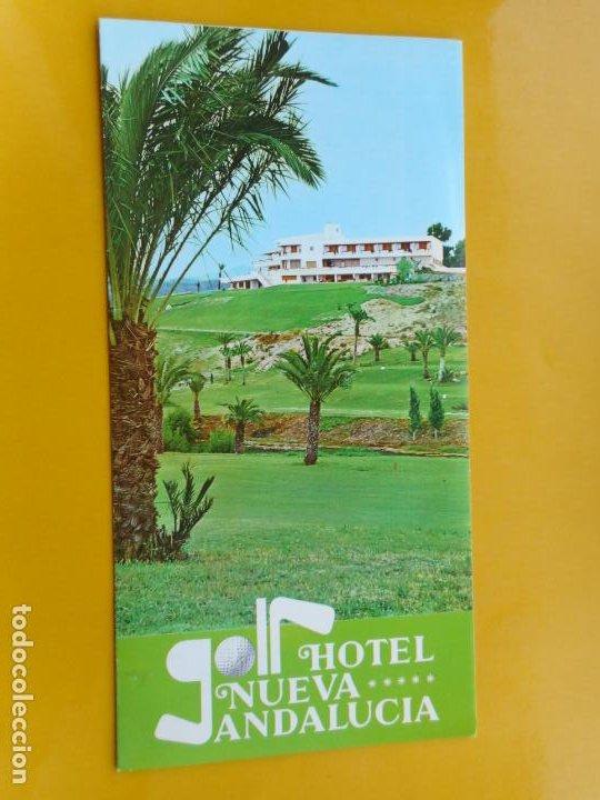 ANTIGUO FOLLETO.HOTEL NUEVA ANDALUCIA MARBELLA 1970 (Coleccionismo - Folletos de Turismo)