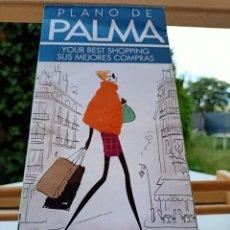 Folhetos de turismo: PLANO DE PALMA EL CORTE INGLÉS EN ESPAÑOL E INGLÉS 2011. Lote 265537879
