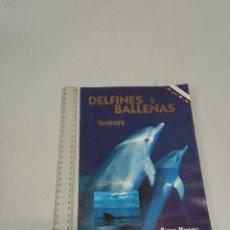 Folletos de turismo: DELFINES Y BALLENAS TENERIFE TURISMO. Lote 268141009