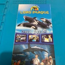 Folletos de turismo: FOLLETO/PLANO/GUIA DEL LORO PARQUE /LORO SHOW-ORCA OCEAN-PINGUINOS-TIGRES /SIAM PARK /TENERIFE. Lote 268747394
