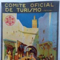 Folletos de turismo: REPUBLICA ESPAÑOLA COMITE OFICIAL DE TURISMO PROTECTORADO TETUAN TAMAÑO 10,5 X 16,5 CM.. Lote 268799319