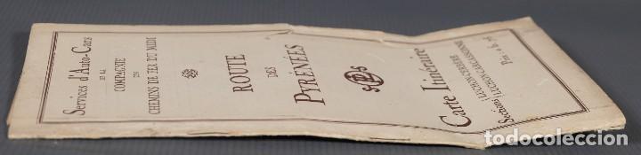 Folletos de turismo: Guia Route des Pyrénées-Carte Itinéraire - C.S. Mai année 1932 - Foto 4 - 268846409