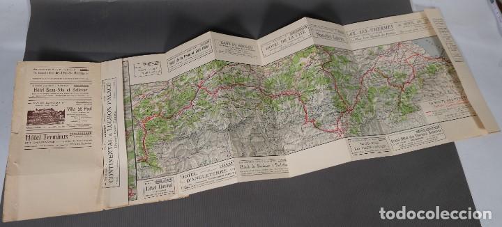 Folletos de turismo: Guia Route des Pyrénées-Carte Itinéraire - C.S. Mai année 1932 - Foto 5 - 268846409