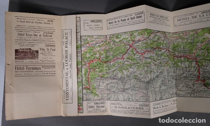 Folletos de turismo: Guia Route des Pyrénées-Carte Itinéraire - C.S. Mai année 1932 - Foto 6 - 268846409