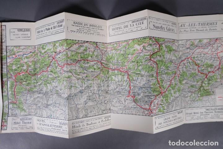 Folletos de turismo: Guia Route des Pyrénées-Carte Itinéraire - C.S. Mai année 1932 - Foto 7 - 268846409