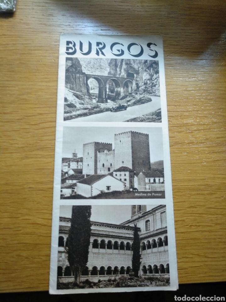 Folletos de turismo: Folleto de turismo de Burgos 1960. Incluye relación de precios de hoteles - Foto 5 - 268939759