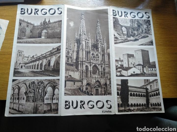 Folletos de turismo: Folleto de turismo de Burgos 1960. Incluye relación de precios de hoteles - Foto 6 - 268939759