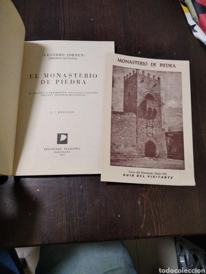 Folletos de turismo: El monasterio de piedra Zaragoza - Foto 2 - 268946279