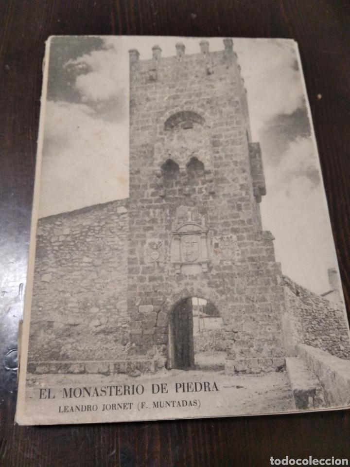 EL MONASTERIO DE PIEDRA ZARAGOZA (Coleccionismo - Folletos de Turismo)