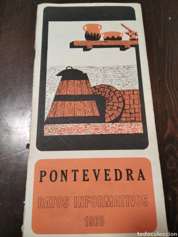 FOLLETO TURÍSTICO PONTEVEDRA 1968 (Coleccionismo - Folletos de Turismo)