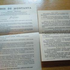 Folletos de turismo: INFORMACIÓN TURÍSTICA SOBRE ACTIVIDADES EN MALLORCA 1960. Lote 268981334
